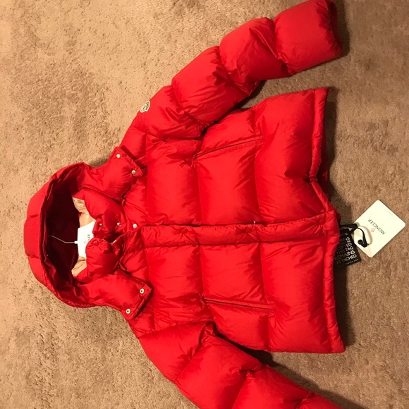 Moncler Paeonia Quilter cotton canvas down coat